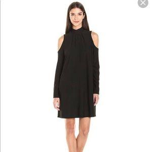 Kensie Black Cold Shoulder Dress